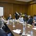 Reunião com secretário da Educação de SP
