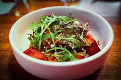 Roasted Carrot, Fresh Cheese, Harissa, Pomegranate…