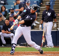Chase Headley hits an RBI double