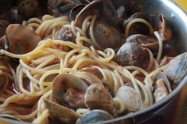 Spaghetti vongole...