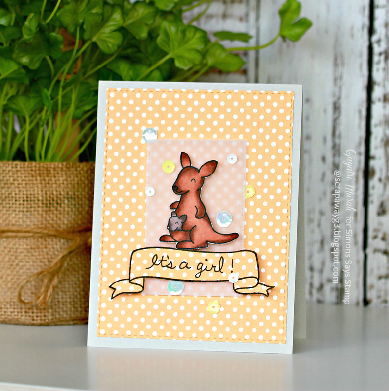 It's a girl card #1