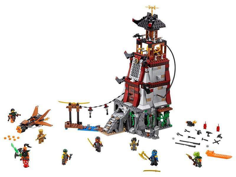 LEGO Ninjago Sets 2016: 70594 - The Lighthouse Siege