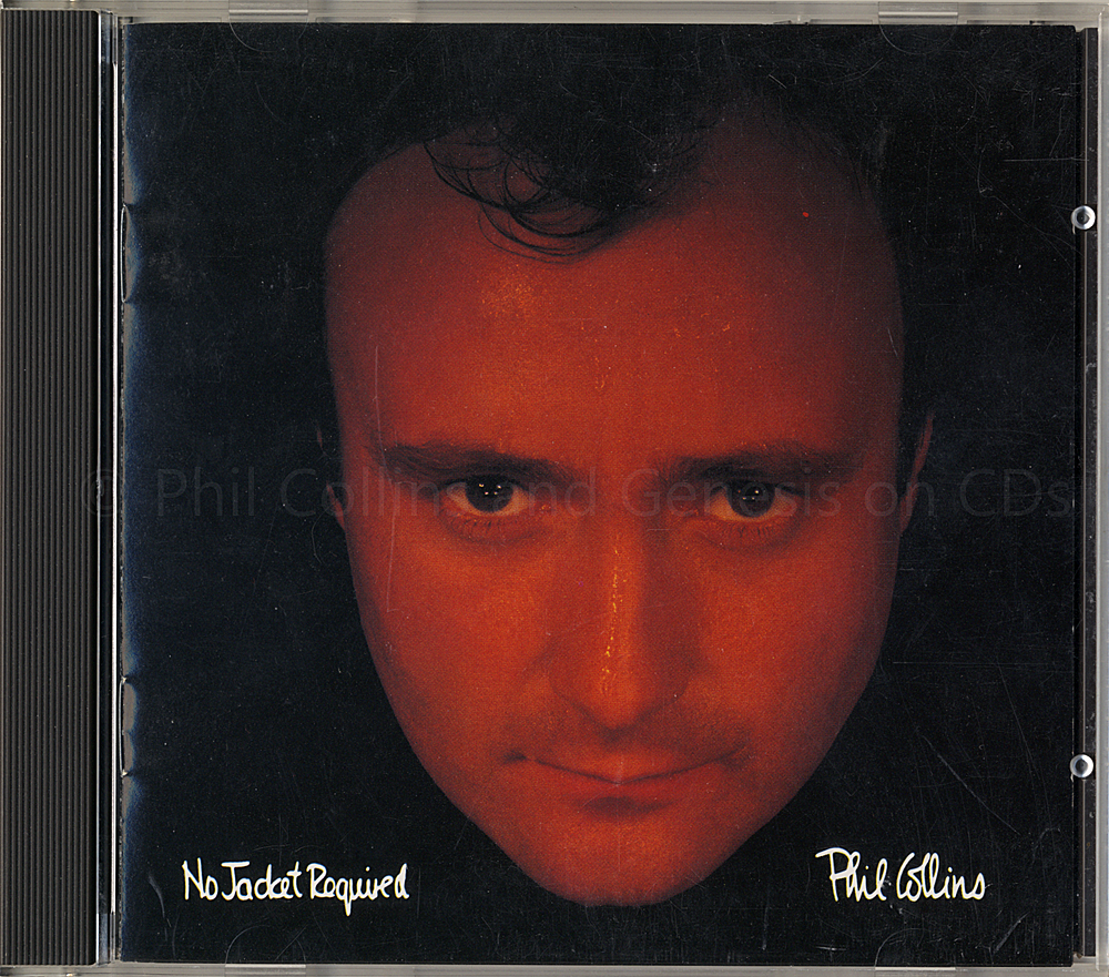 No Jacket Required, front