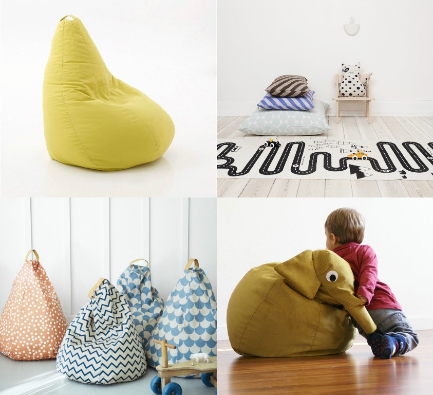 the best bean bags & floor cushion for kids
