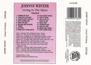 Johnny Winter - Living in the Blues (Thunderbolt)