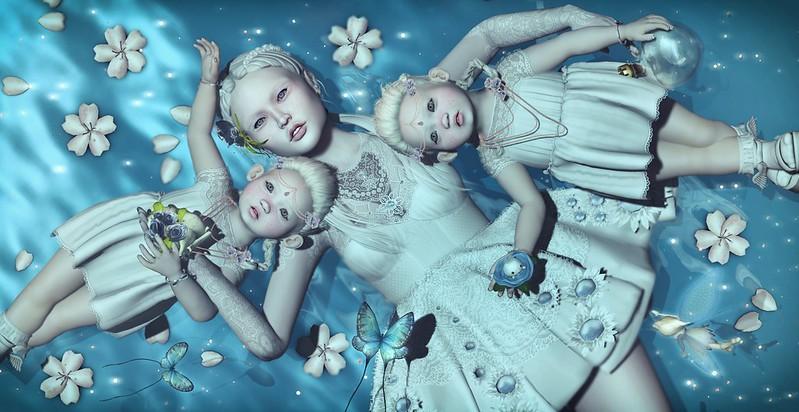 Amelie et les petites: Albinos