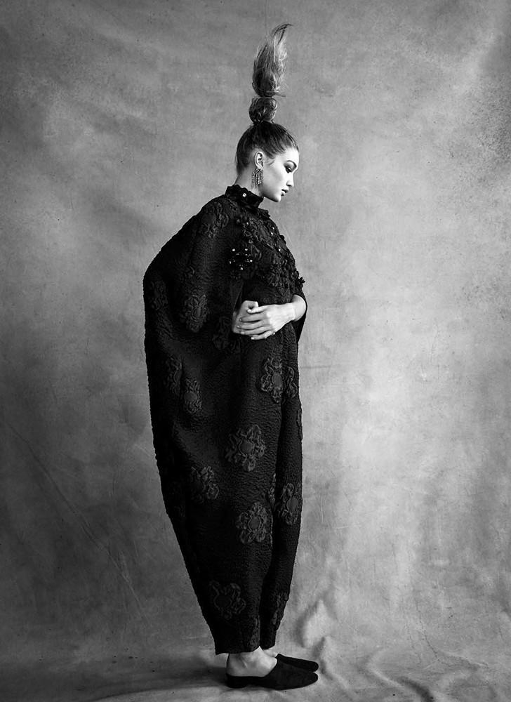 Джиджи Хадид — Фотосессия для «Vogue» IT 2016 – 3