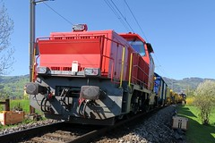 SBB - Derailment while track maintenance