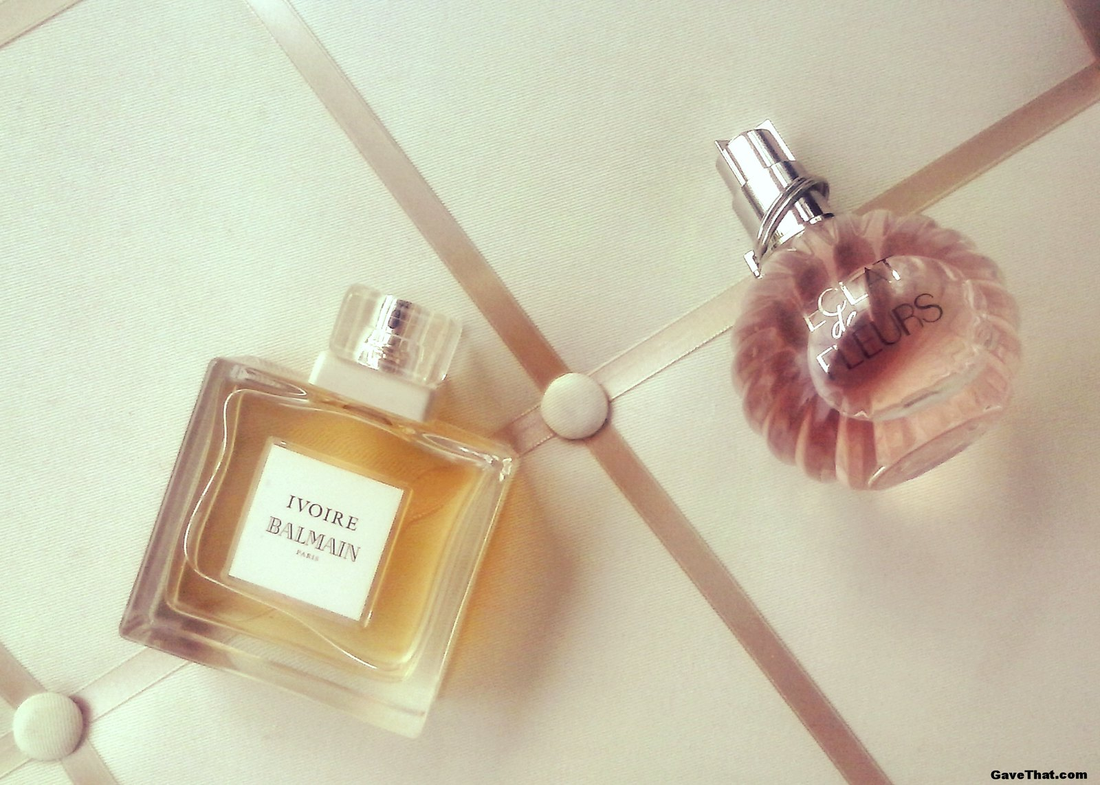 Balmain Ivorie and Lanvin Eclat dr Fleurs Fragrance reviews