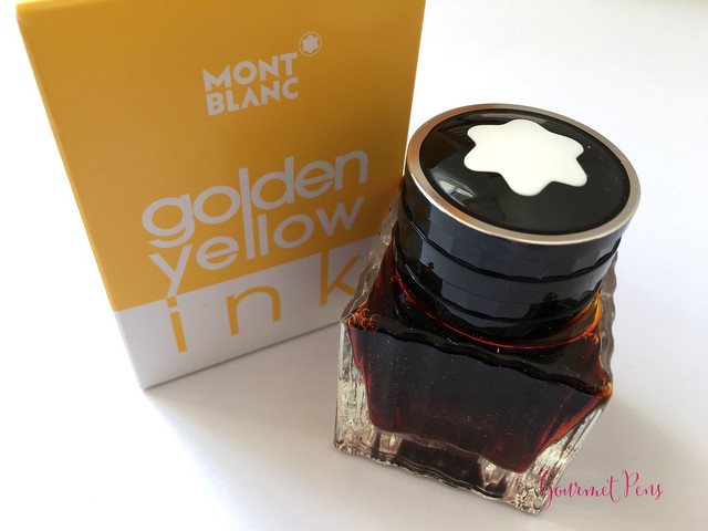 Ink Shot Review Montblanc Golden Yellow @AppelboomLaren @Montblanc_World (2)