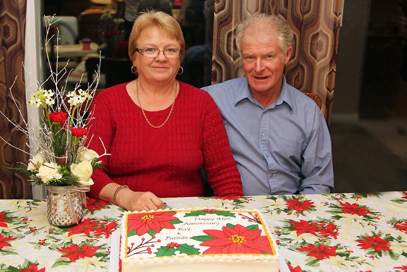 Ray & Brenda's 40th Anniversary