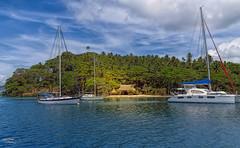 Savusavu Town in Fiji
