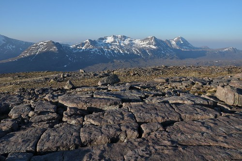 Beinn Dearg and Beinn Alligin