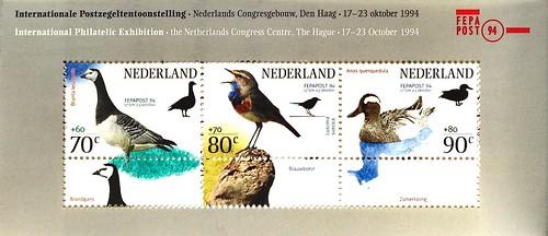 Nederlands stamps 1994