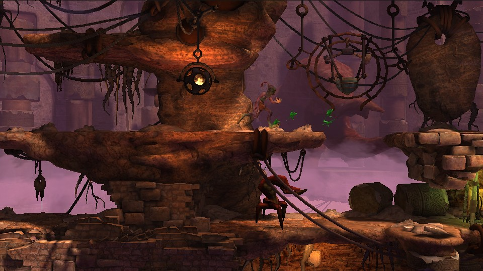 Oddworld: New 'n' Tasty on PS Vita