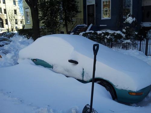 Car: Pre-Shoveling