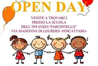 Noicattaro. Open Day infanzia Parchitello front