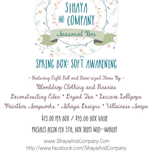 Sihaya and Company Spring Box