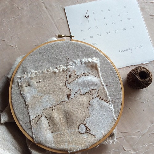 Stitch Journal 2016: Day 32