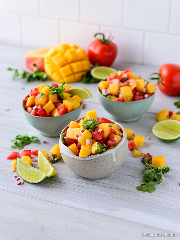 Summer Mango Salsa