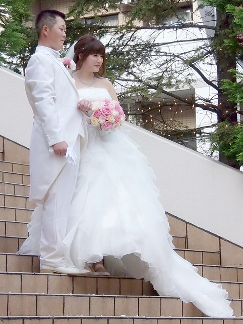 Photo:#6805 wedding couple (新郎新婦) By Nemo's great uncle