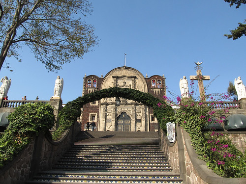 Mexico City: la Chapelle de la Colline et les 4 anges