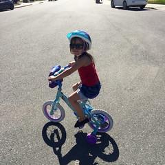 Chloe bear on her bike 🚲 today @trripple