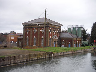 Broxbourne Pumping Station on The New River