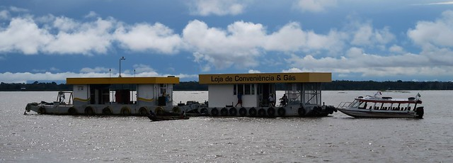 rio negro amazon petrol station