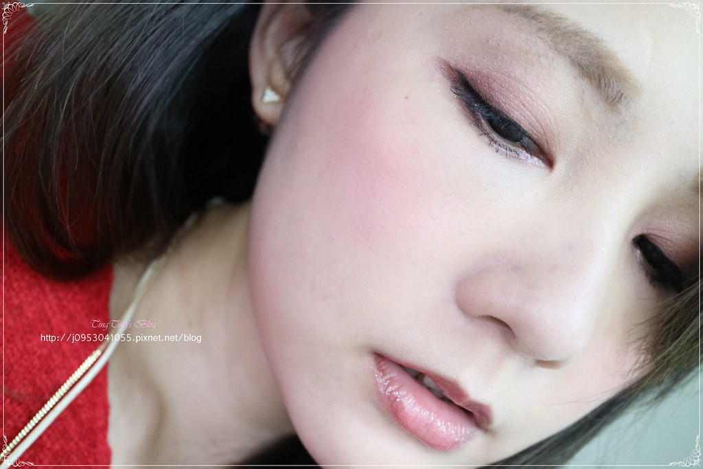 酒紅魅力妝 (4)
