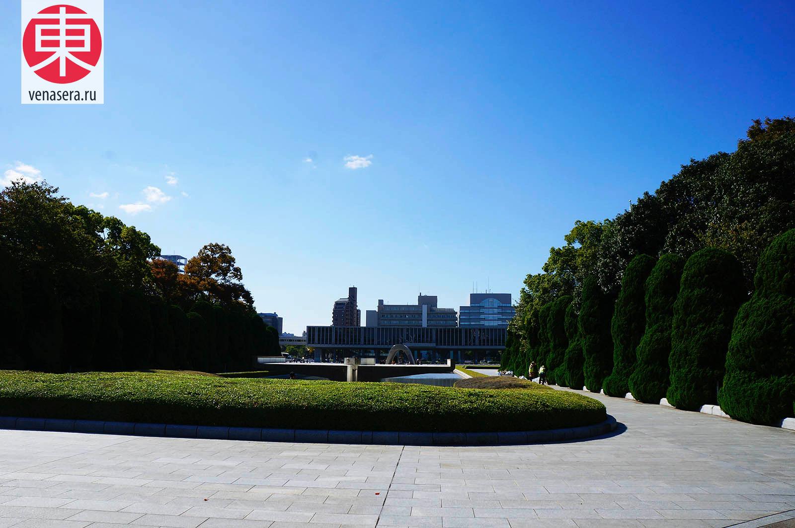Мемориальный парк мира в Хиросиме, Hiroshima Peace Memorial Park, 広島平和記念公園, Хиросима, Hiroshima, 広島, Хонсю, Honshu, 本州, Япония, Japan, 日本.