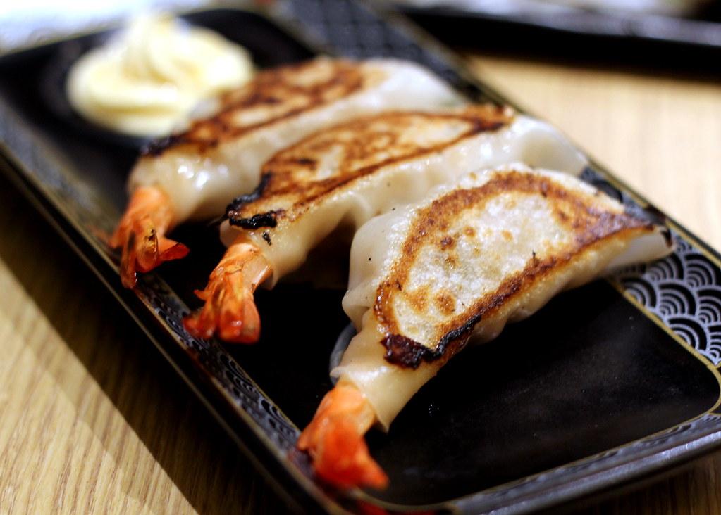 Ramen Keisuke Lobster King Prawn Gyoza
