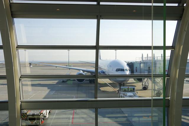 羽田空港-伊丹空港、空の旅_5