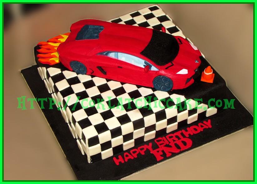 Cake Lamborghini