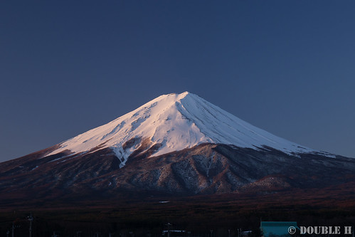Mt. Fuji view from Fuji-Yoshida City (2)