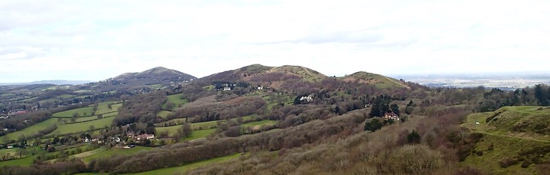 Malvern Hills - from the saddle