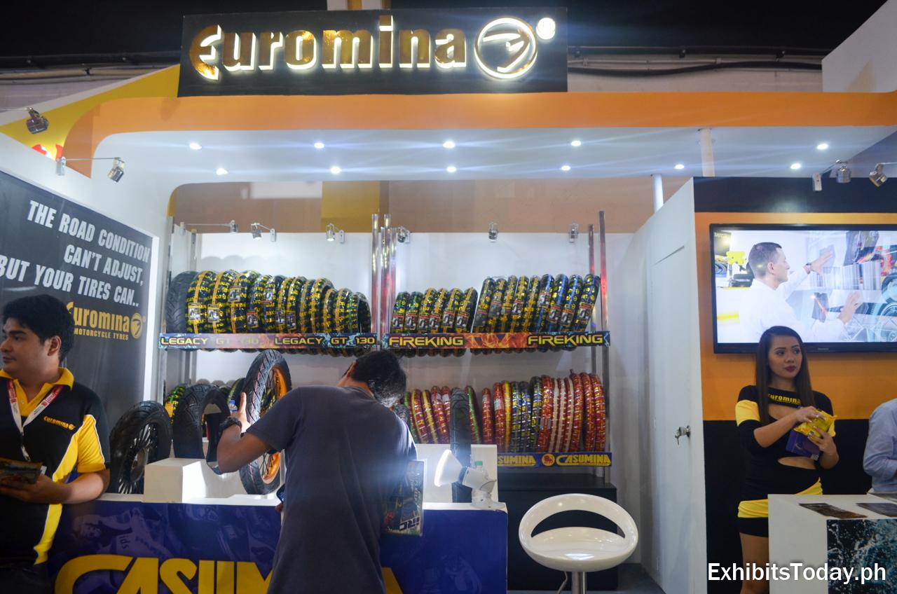 Euromina Exhibit Stand