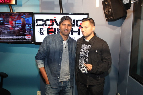 Cliff Curtis on the Covino & Rich Show