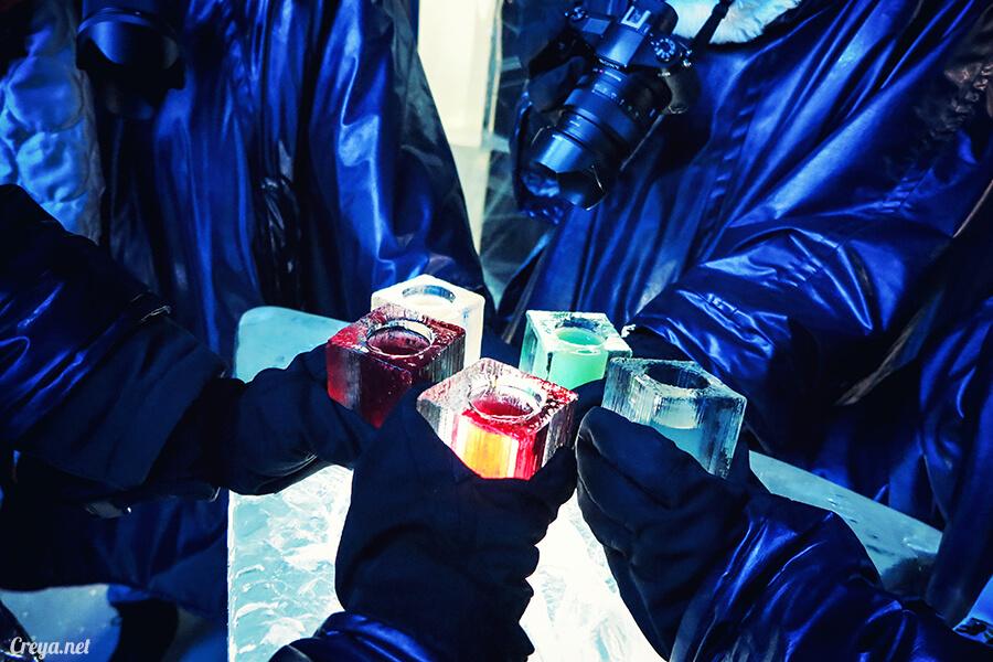 2016.03.24 ▐ 看我歐行腿 ▐ 斯德哥爾摩的 ICEBAR 冰造酒吧,奇妙緣份與萍水相逢的台灣鄉親破冰共飲 21.jpg