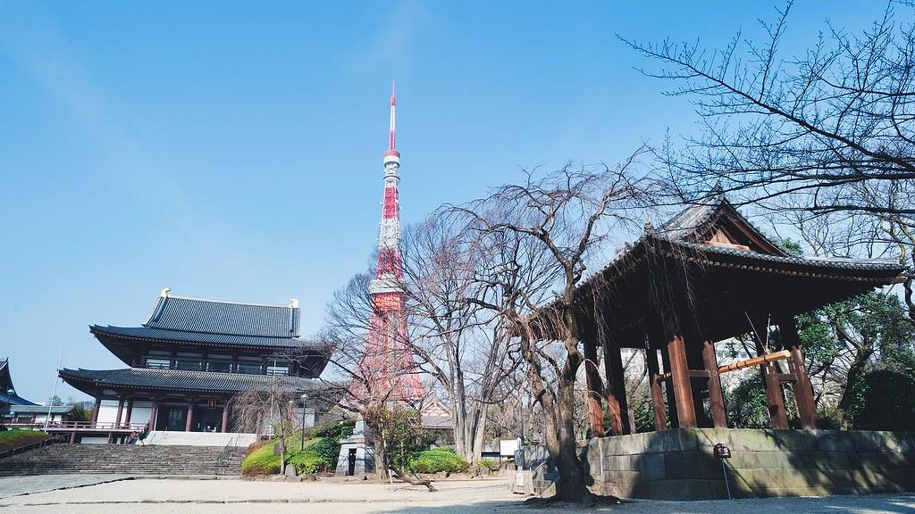 東京鐵塔&增上寺
