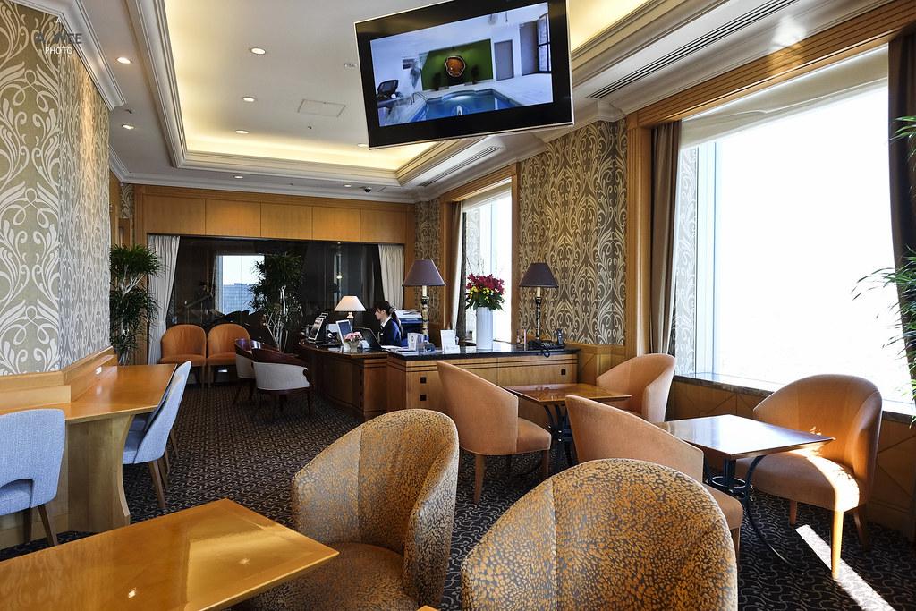 Inside the Club lounge