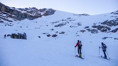 Podejście na Gran Paradiso 4061m. Gdzieś na lodowcu Laveciau