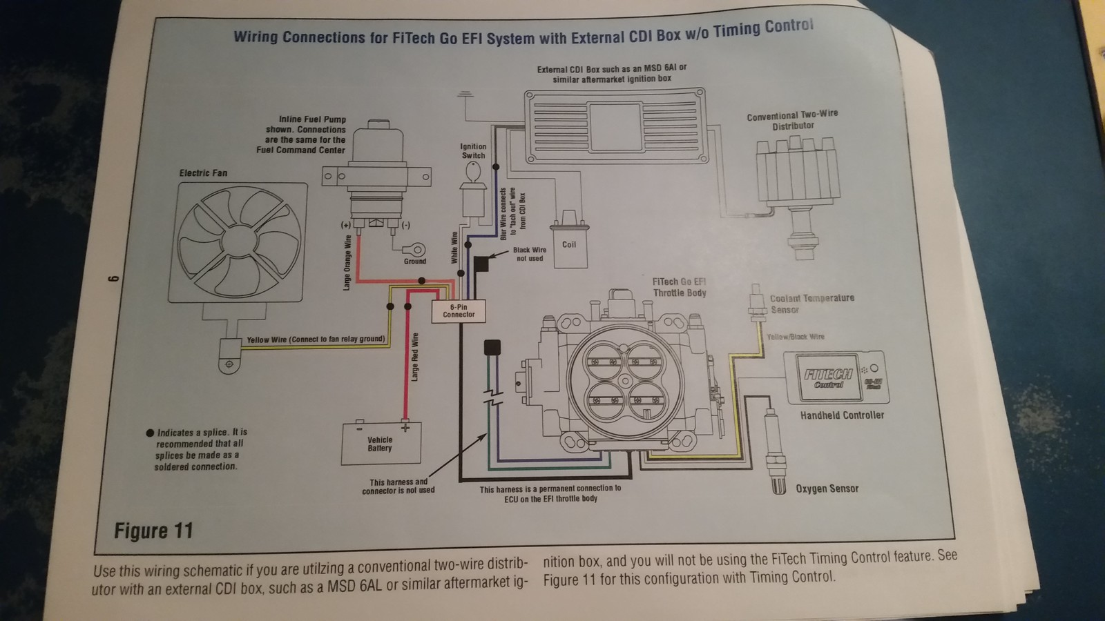 Fitech Wiring Diagram With Msd Electrical Diagrams Iid