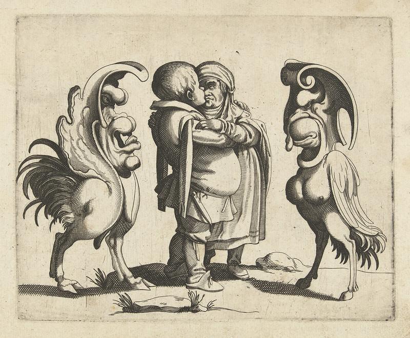 Arent van Bolten - Grotesque Creatures 3, 1604-1616