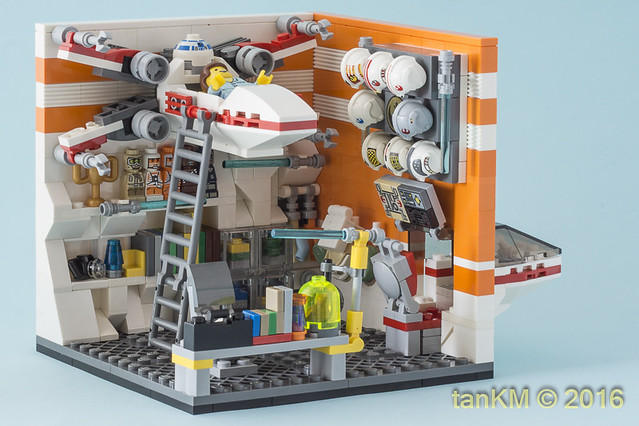 LEGO Star Wars chambre X-Wing