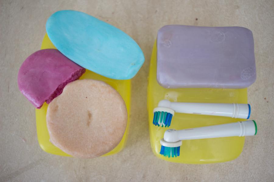 Hanki kiinteitä hygieniatarvikkeita
