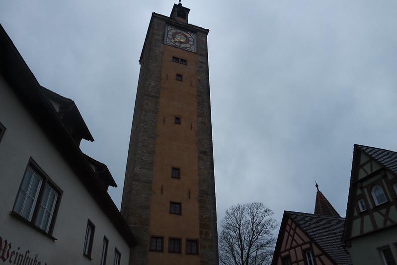 Torre de la muralla de Rothenburg