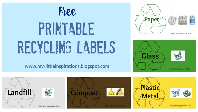 Free Recycling Labels - MLI 3