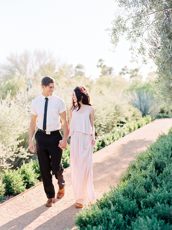 Colourful Wedding Inspiration Shoot { blush, light pink and magenta }