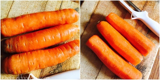 Carrot Halwa Recipe for Toddlers and Kids - step 1